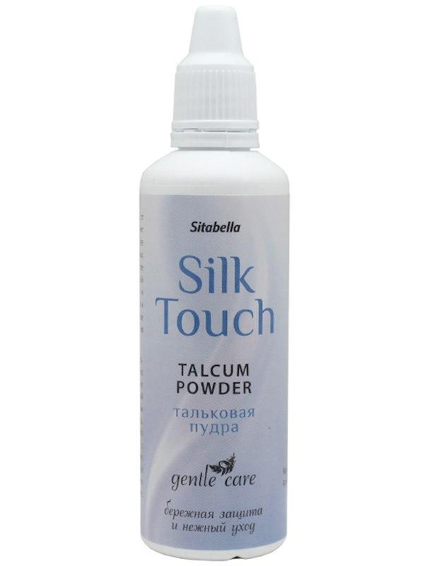 Тальковая пудра Silk Touch Talcum для ухода за секс игрушками – 30 г от Он и Она
