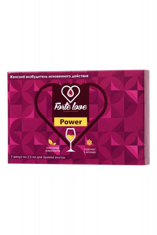 ЖЕНСКИЕ КАПЛИ FORTE LOVE POWER 81953