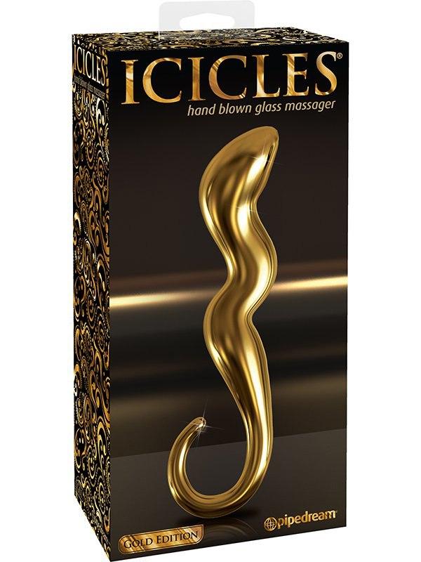 Pipedream Стимулятор Icicles Gold Edition G01  золотой