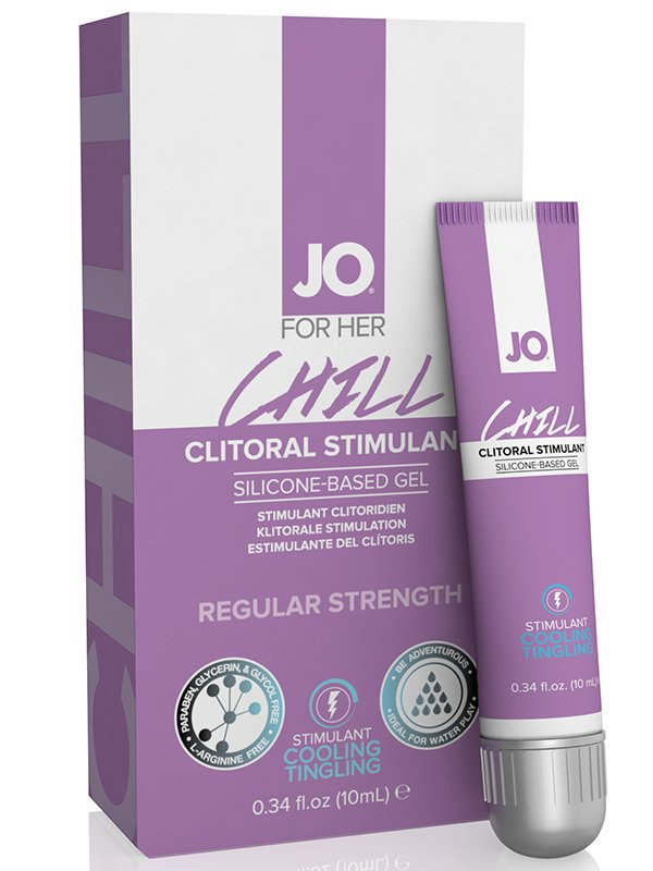 Возбуждающий гель для клитора JO Chill - 10 мл