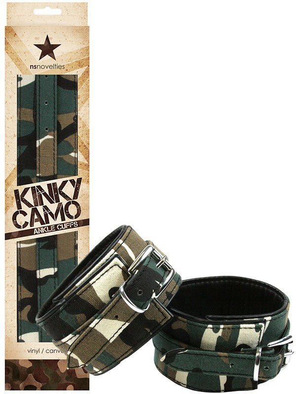 Наножники Kinky Camo Ankle Cuffs