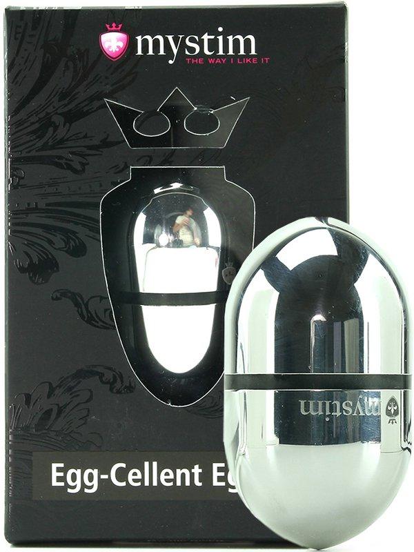 Яйцо с электростимуляцией Egg-cellent Egon S маленькое – серебристое