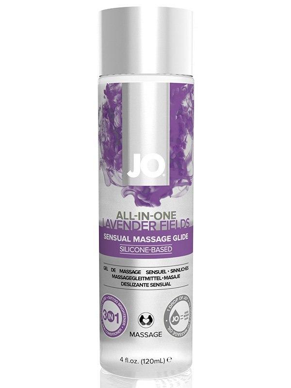 Массажное масло на силиконовой основе All-In-One Lavender с ароматом лаванды  120 мл