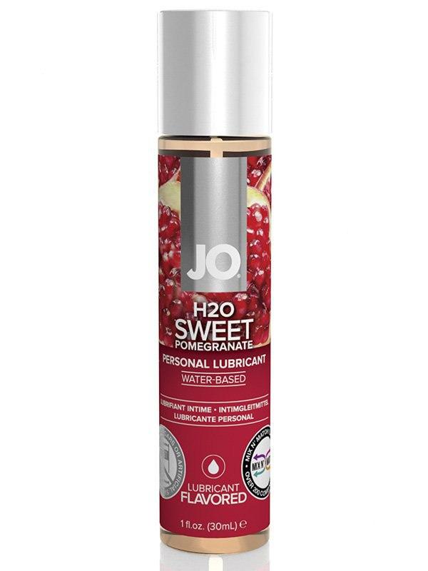 Съедобный лубрикант JO Flavored Sweet Pomegranate - 30 мл