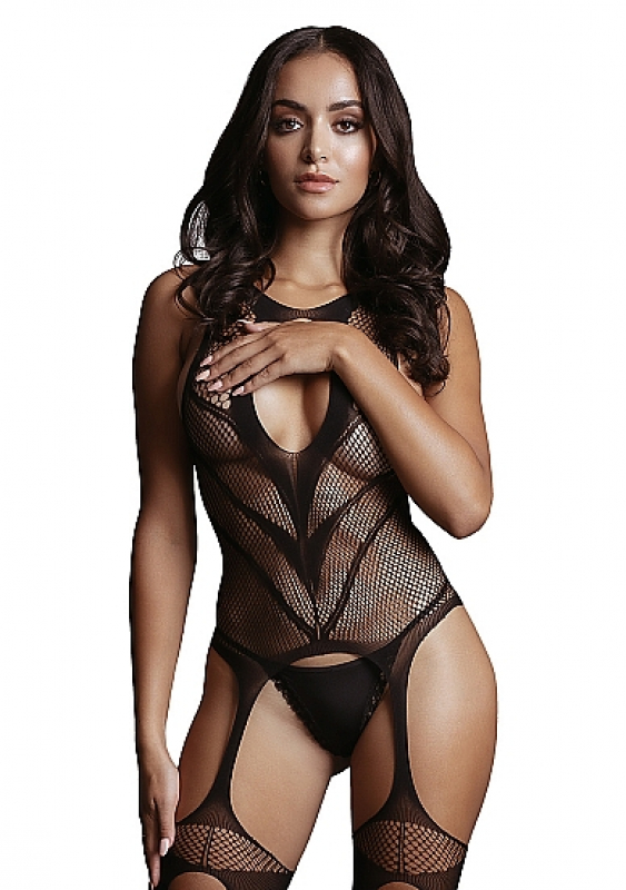 Кетсьюит (боди-комбинезон) Suspender Bodystocking