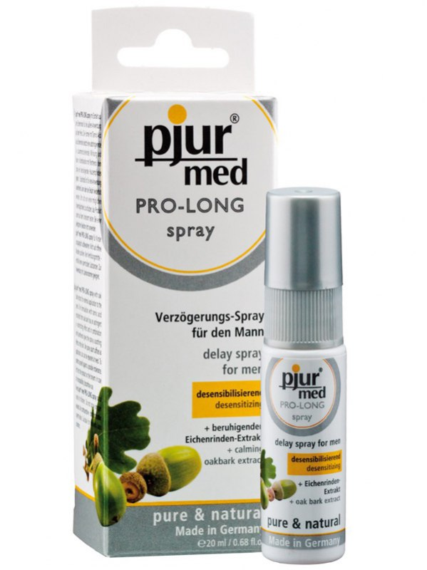 Спрей-пролонголатор Pjur Med с экстрактом дуба и пантенолом - 20 мл (Pjur, Германия)