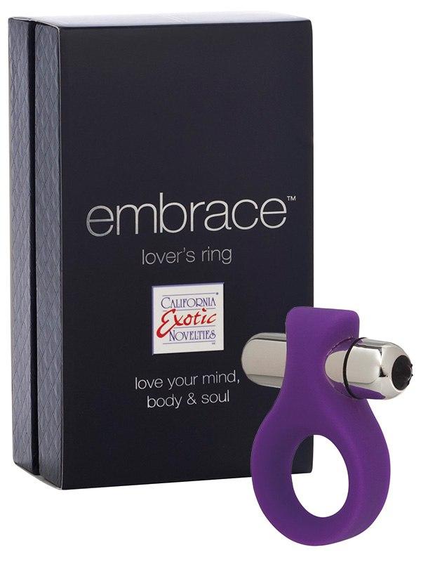 Вибро-кольцо Embrace Lover's Ring – фиолетовое