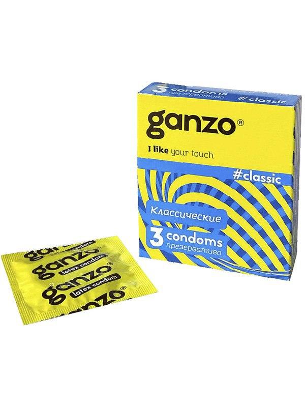 Презервативы Ganzo Classic классические – 3 шт