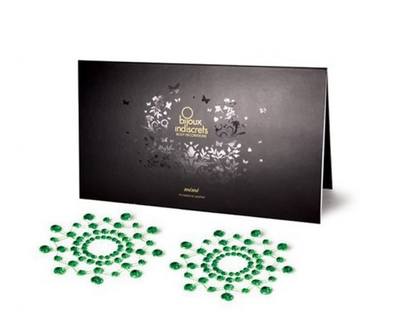 Bijoux Украшение на грудь MIMI зеленое