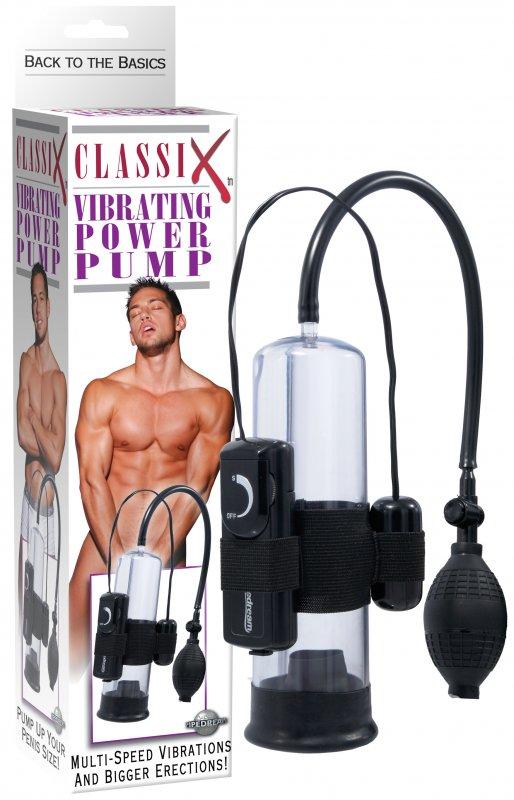 Pipedream Вакуумная помпа с вибрацией Classix Power