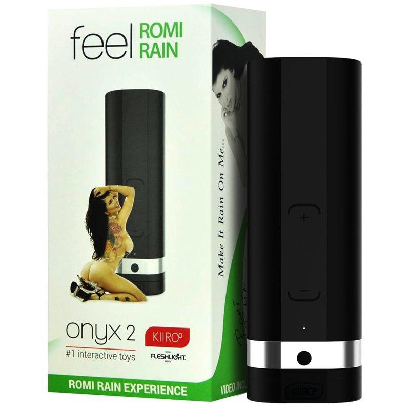 Интерактивный мастурбатор Onyx 2 Romi Rain – черный