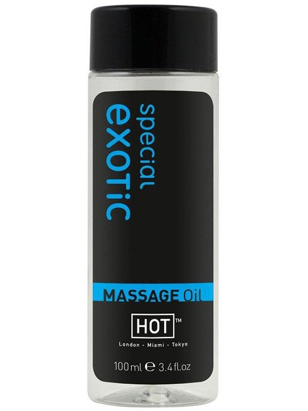 Массажное масло для тела Special Exotic с ароматом экзотических фруктов  100 мл