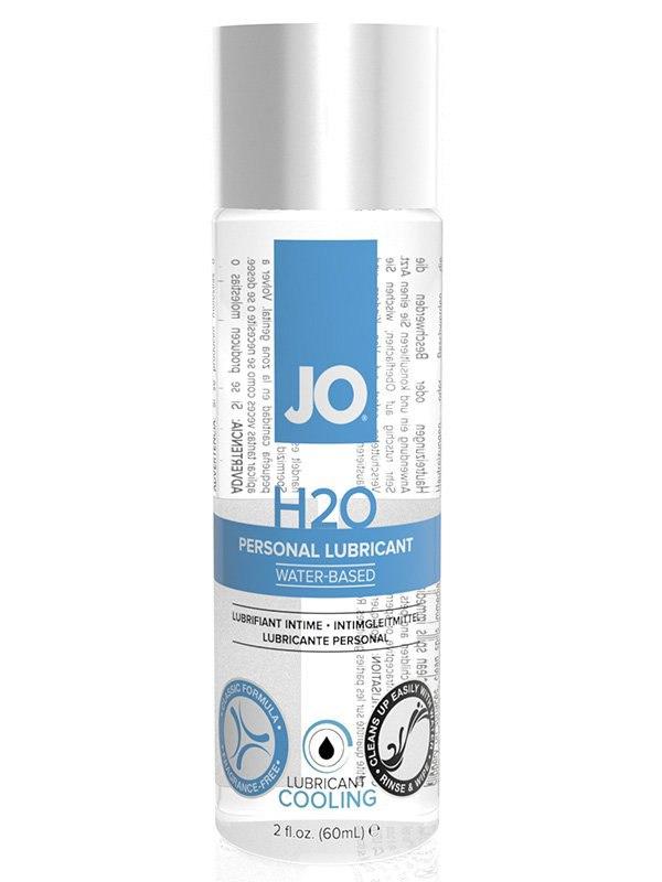 Охлаждающий лубрикант JO Personal H2O Cool - 60 мл