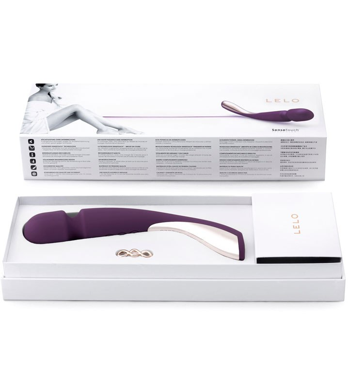 �������� ��� ����� ���� Smart Wand Medium �� Lelo - Plum