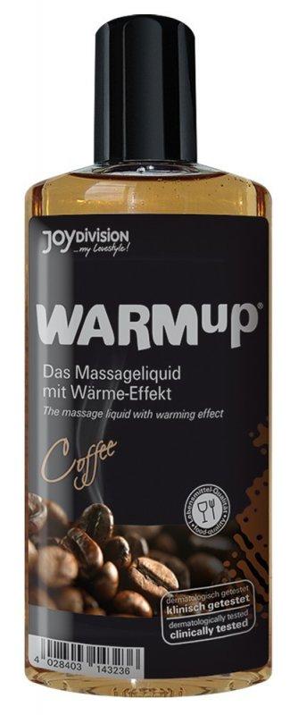 Съедобное разогревающее массажное масло WARMup Кофе - 150 мл