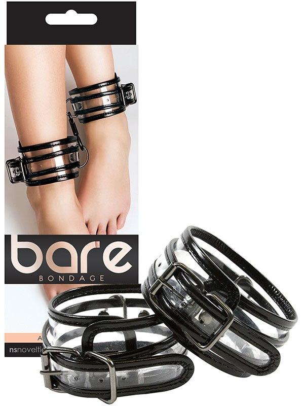 Наножники Bare Bondage Ankle Cuffs виниловые