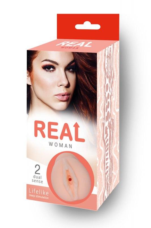 Реалистичный мастурбатор вагина Real Woman Рыжая – телесный