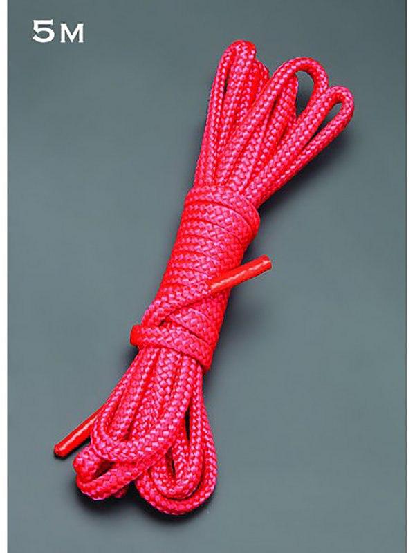 Веревка для бондажа Sitabellа  – красный, 5 м