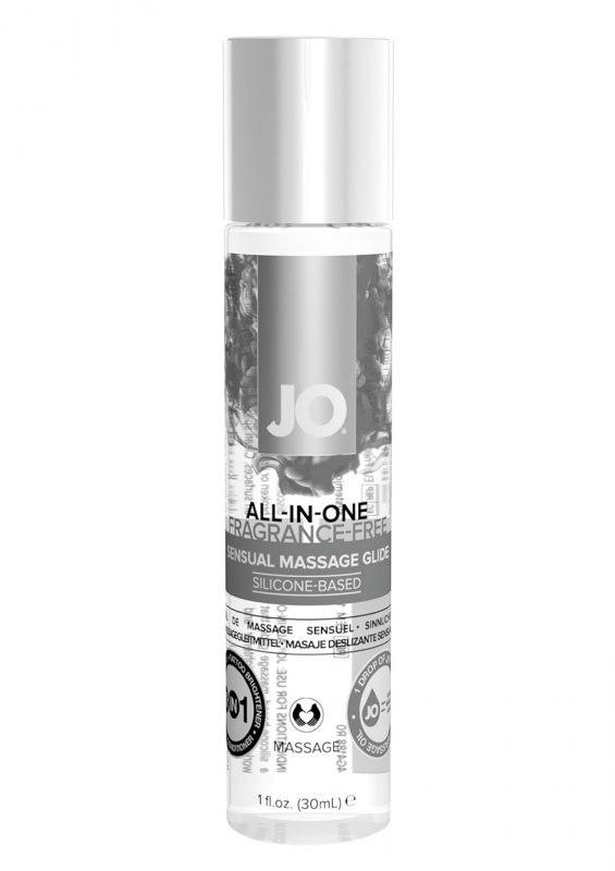 Лубрикант на силиконовой основе JO All-In-One Massage Glide-Fragrance Free - 30 мл