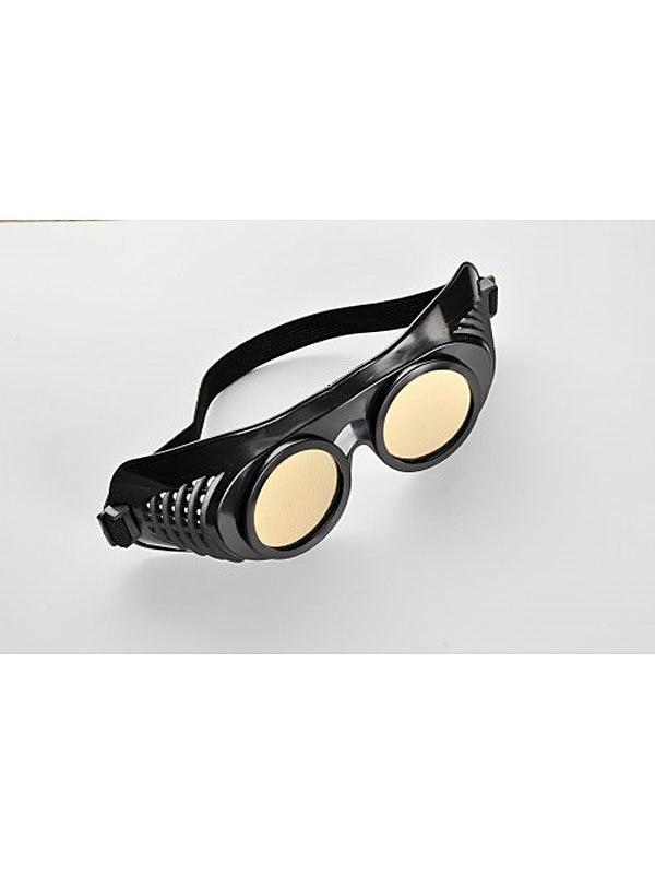 Латексная маска Крюгера от Sitabella - черный с золотистым