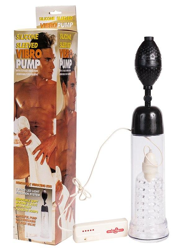 Вакуумная помпа Silicon Sleeved Vibro Pump с вибрацией