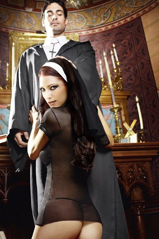 Игровой костюм Сексуальная Монашка