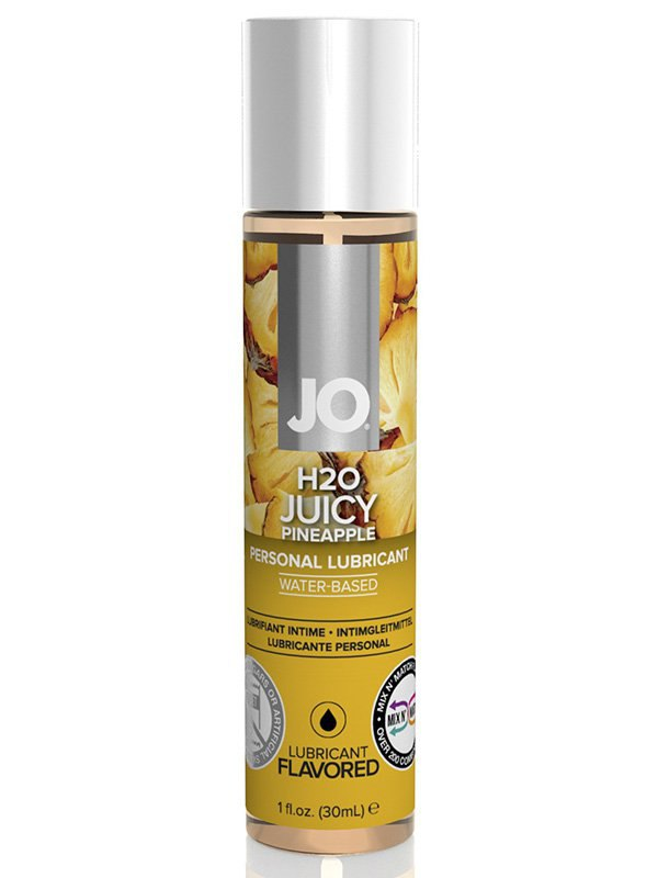 Съедобный лубрикант JO Flavored Juicy Pineapple - 30 мл