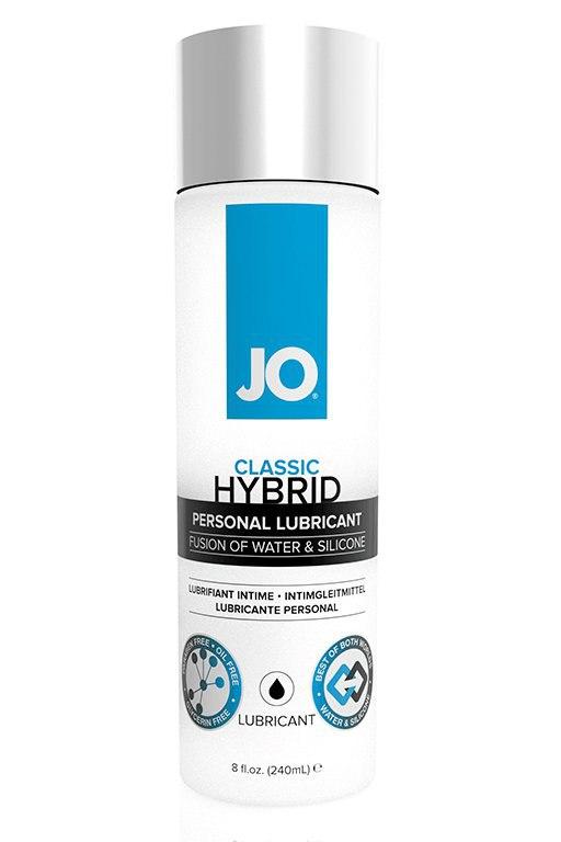 Лубрикант водно-силиконовый JO Classic Hybrid Original - 240 мл