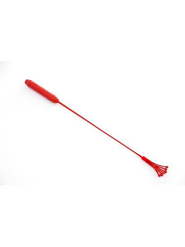 цены Стек-фаллос с шариками Sitabella латексный – красный