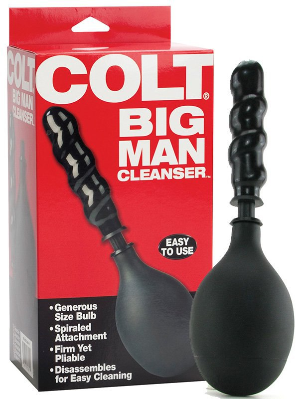 Анальный душ Colt Big Man Cleanser  черный
