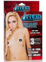 Кукла Vivid Raw Teen Queen Love Doll – телесная