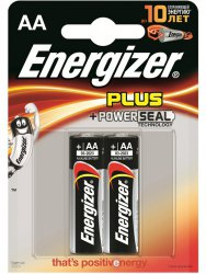 Щелочные батарейки Energizer AA Base (PLUS) - 2 шт.