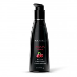 Лубрикант со вкусом сладкой вишни WICKED AQUA Cherry 120 ml