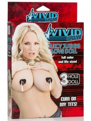 Кукла Vivid Raw Juicy Juggs Love Doll – телесная