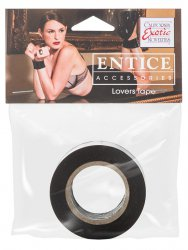 Липкая лента Entice Lovers Tape – черный