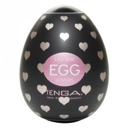 Мастурбатор яичко Tenga Egg - Lovers – прозрачный