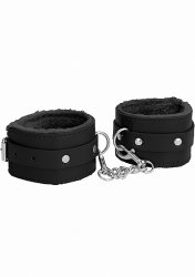Наножники (оковы, фиксаторы) Plush Leather Ankle Cuffs