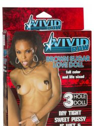 Кукла Vivid Raw Brown Sugar Love Doll – мулатка
