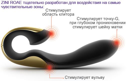 Роскошный вибратор ZINI  ROAE